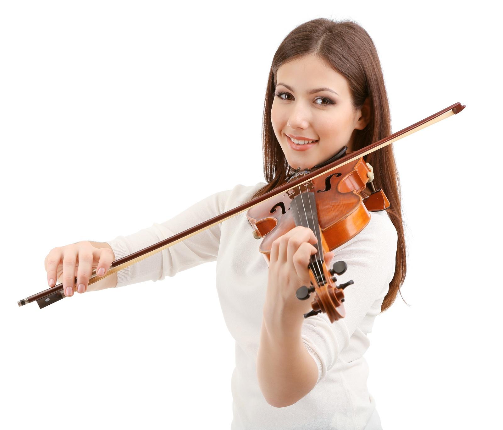 happy violin posture